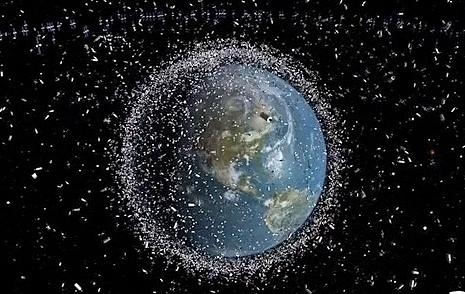 Artwork Photograph - Space Junk by Science Source