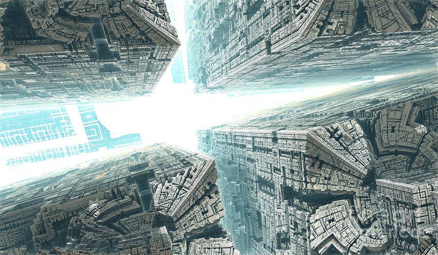 Digital Digital Art - Space Travel by Bernard MICHEL