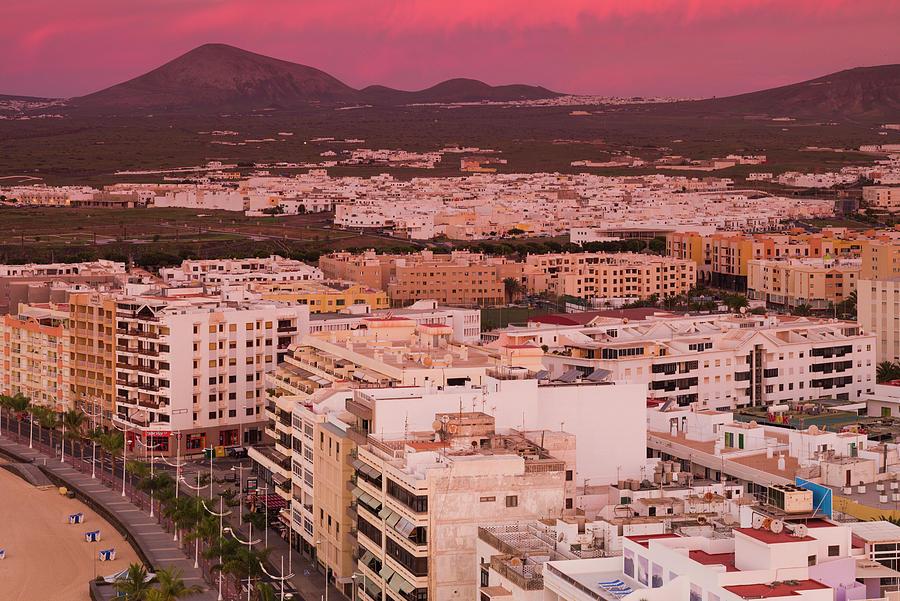 Spain, Canary Islands, Lanzarote Photograph by Walter Bibikow