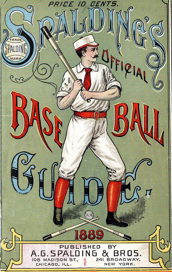 Spalding Digital Art - Spalding Baseball Ad 1189 by Unknown
