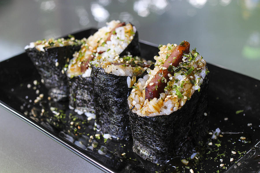 Spam Musubi Photograph by Thanks for taking your time to look.  Sher Yip