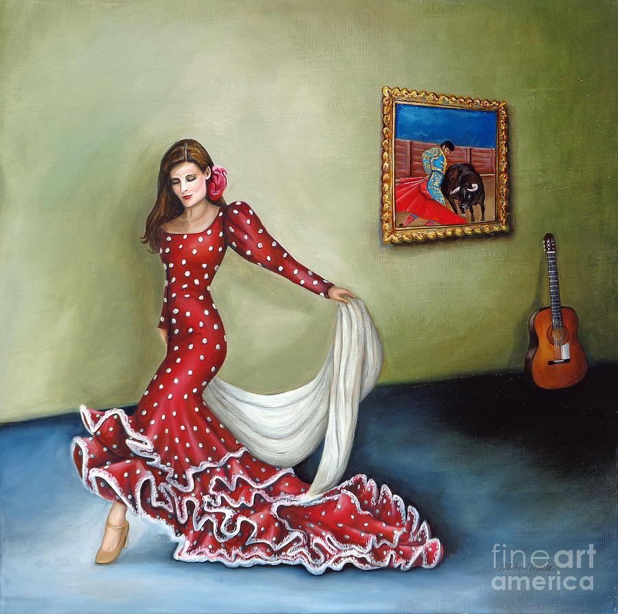 Dancer Painting - Spanish Dancer by Gretchen Matta