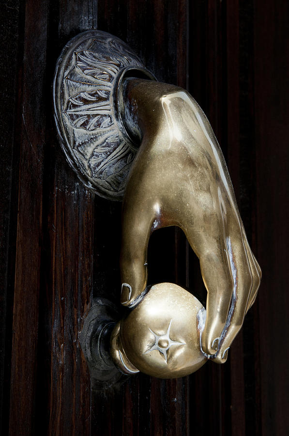 Spanish Door Knocker Photograph By Angela Bonilla
