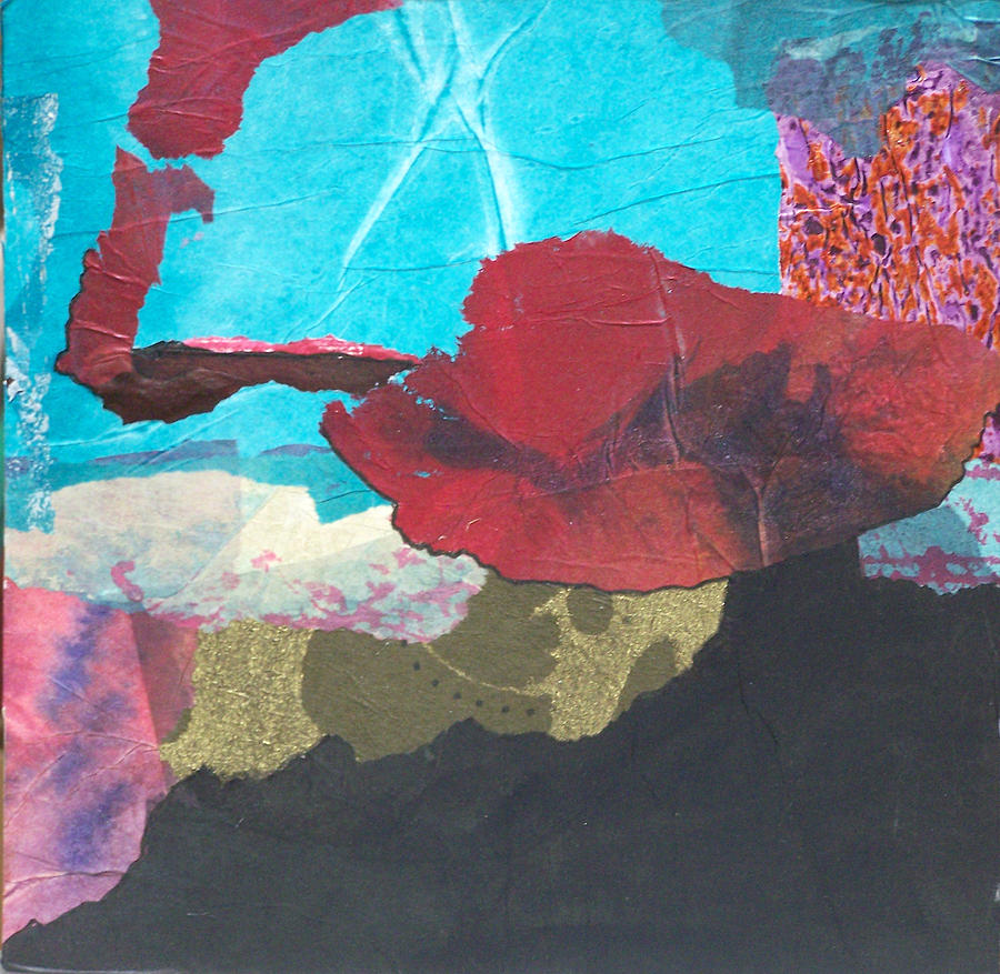 Collage Mixed Media - Spanish Nights by MtnWoman Silver