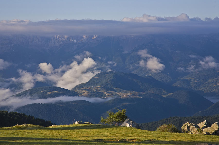 Europe Photograph - Spanish Pyrenees by Frits Selier