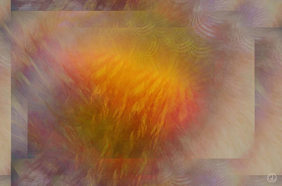 Abstract Digital Art - Sparkling Mood by Gun Legler