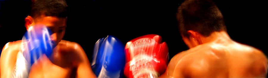 Sparring Photograph - Sparring by Kaleidoscopik Photography