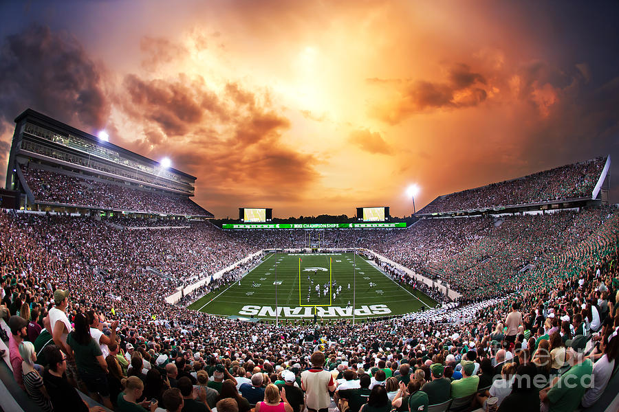 Spartan Stadium is a photograph by Rey Del Rio which was uploaded on ...