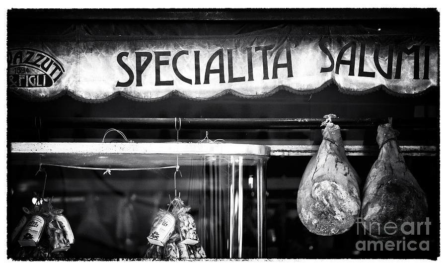 Neighborhood Photograph - Special Salami by John Rizzuto