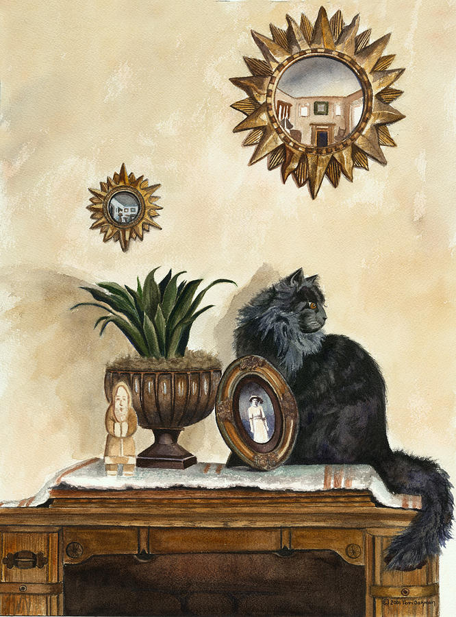 Special Treasures Painting by Terri  Meyer