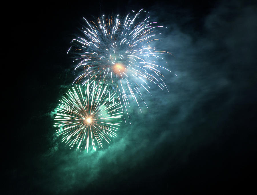 Spectacular Fireworks Photograph by Zeiss4me