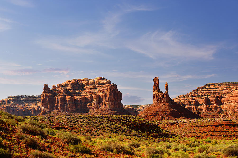 Valley Photograph - Spectacular Valley Of The Gods by Christine Till