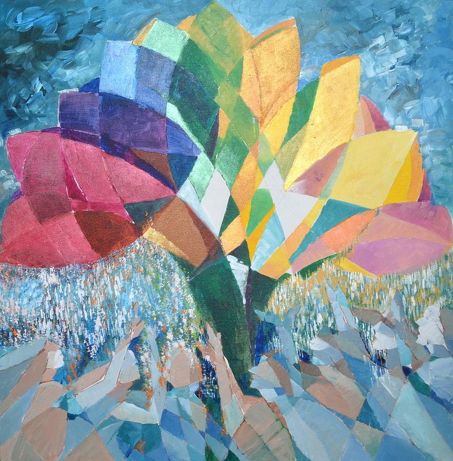 Acrylic Painting - Spectrum  by Yogendra  Sethi