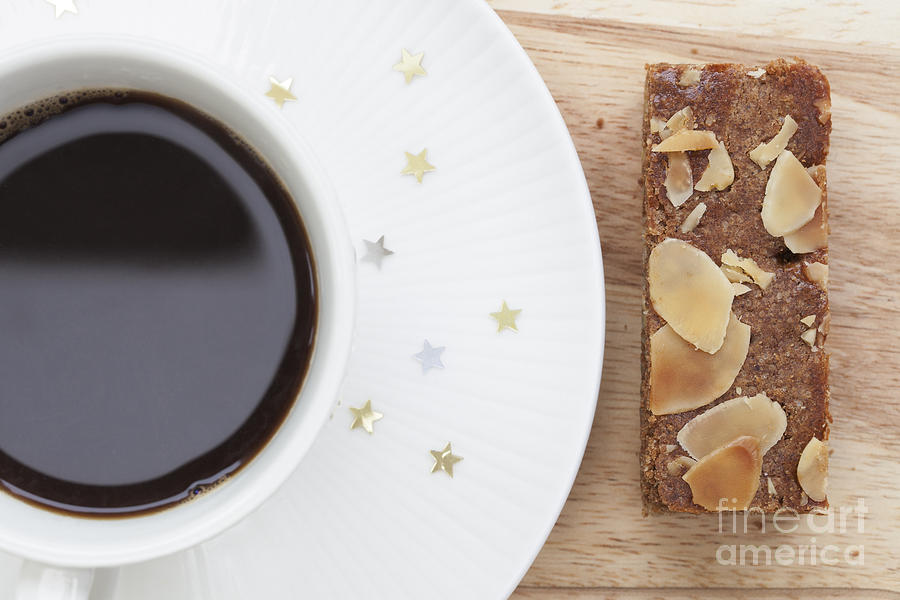 Speculaas And Coffee Photograph