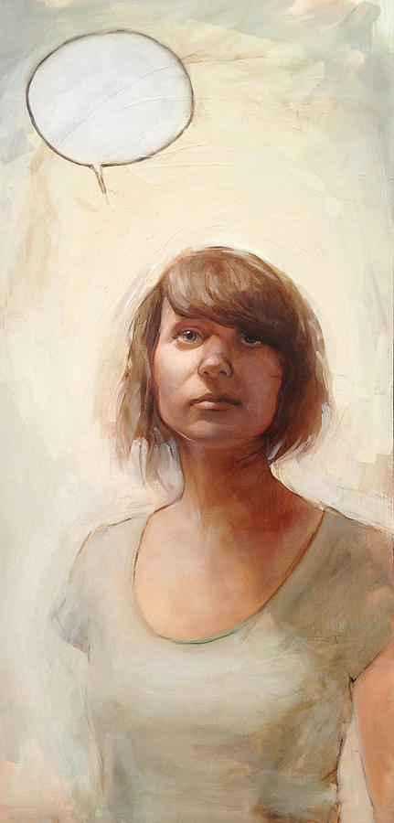 Figurative Painting Painting - Speechless by Matthew Schenk