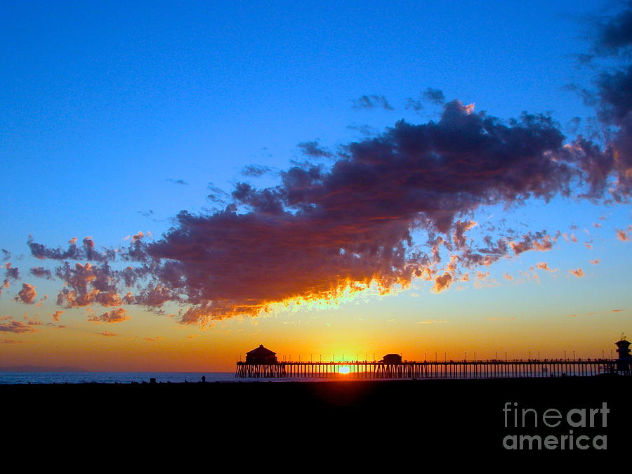 Huntington Beach Photograph - Pier 27 by Margie Amberge