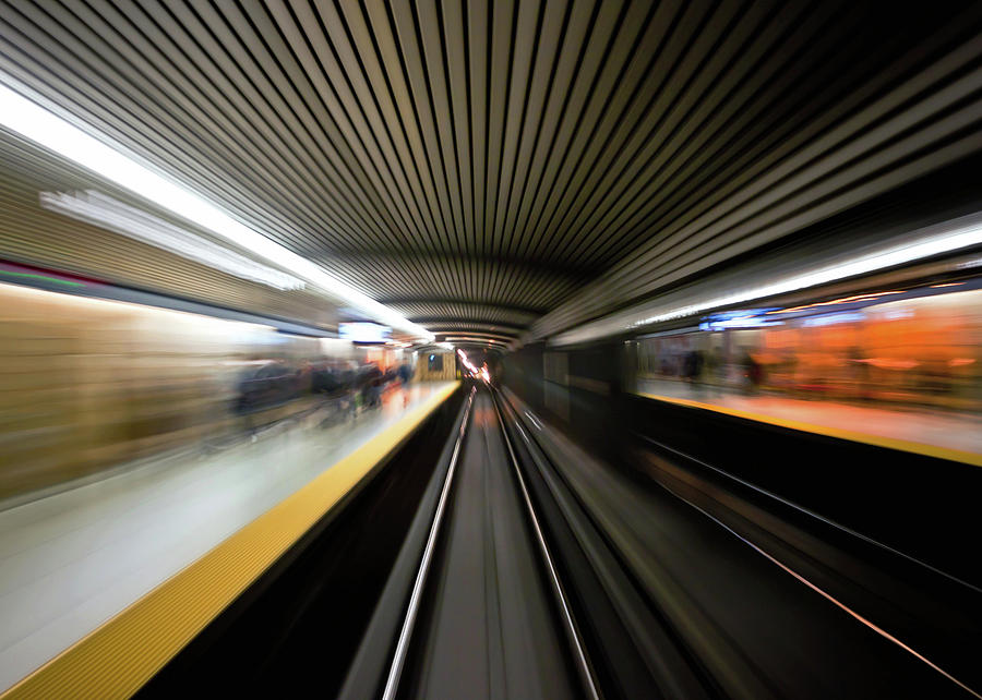Action Photograph - Speed by Brian Carson