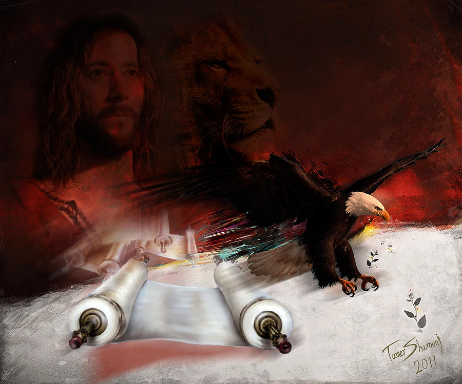 Christian Digital Art - Speed In The Spirit by Tamer and Cindy Elsharouni