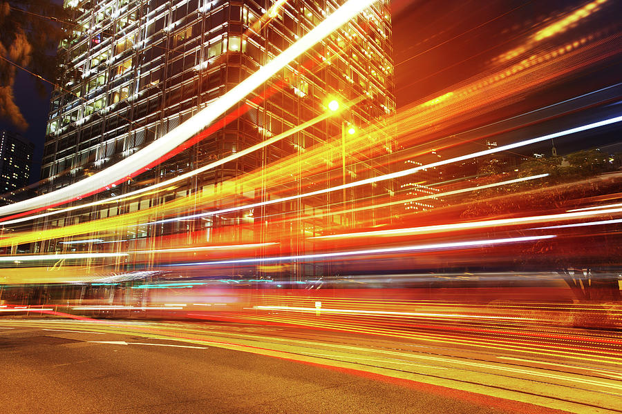 Speed Of Light Photograph by Blackred