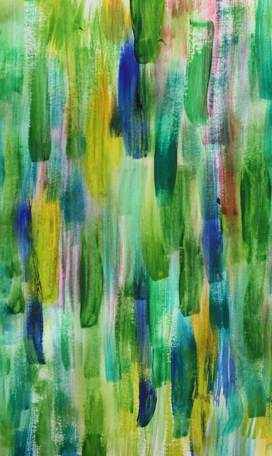 Fall Painting - Spetember Rain by Tom Atkins