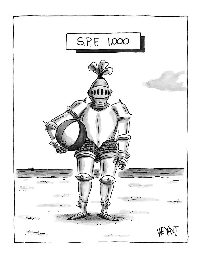 s.p.f. 1,000 Drawing by Christopher Weyant