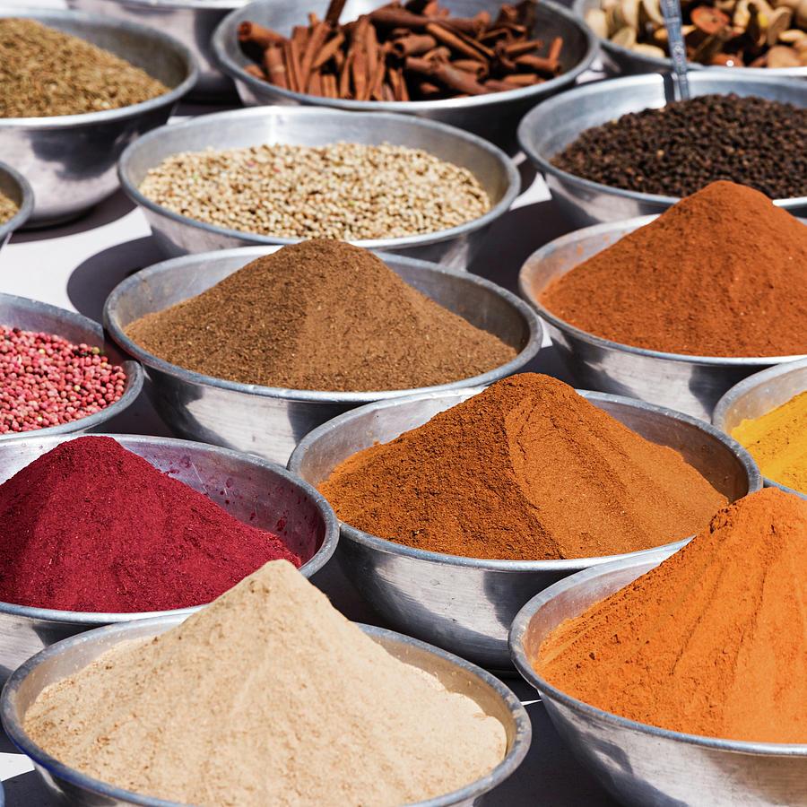 Spice Market Photograph by Hadynyah