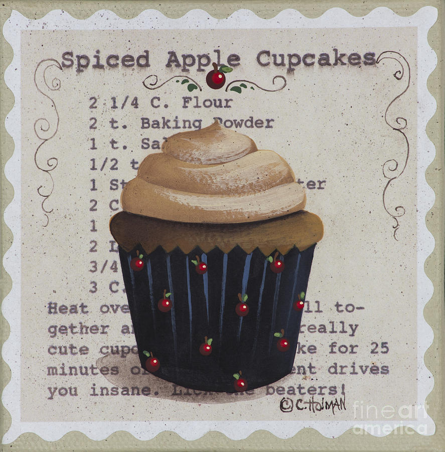 Spiced Apple Cupcake by Catherine Holman