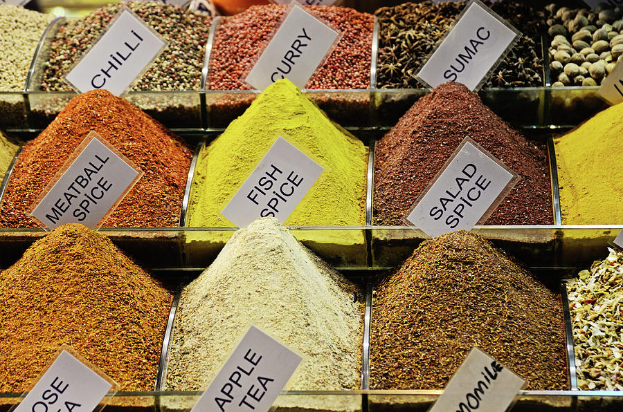 Spices Photograph by Dhmig Photography