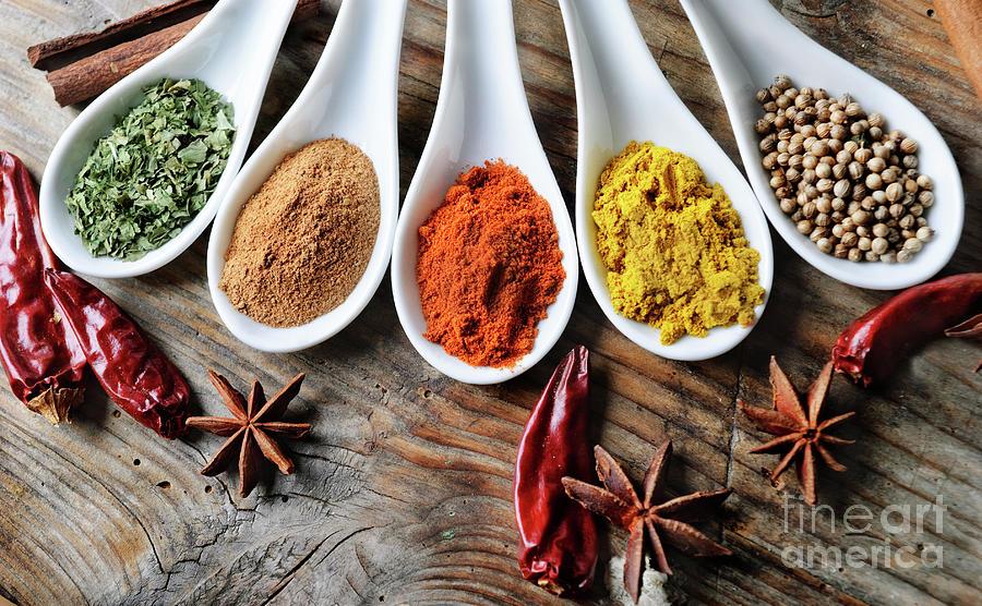 Spices Photograph - Spices by Jelena Jovanovic
