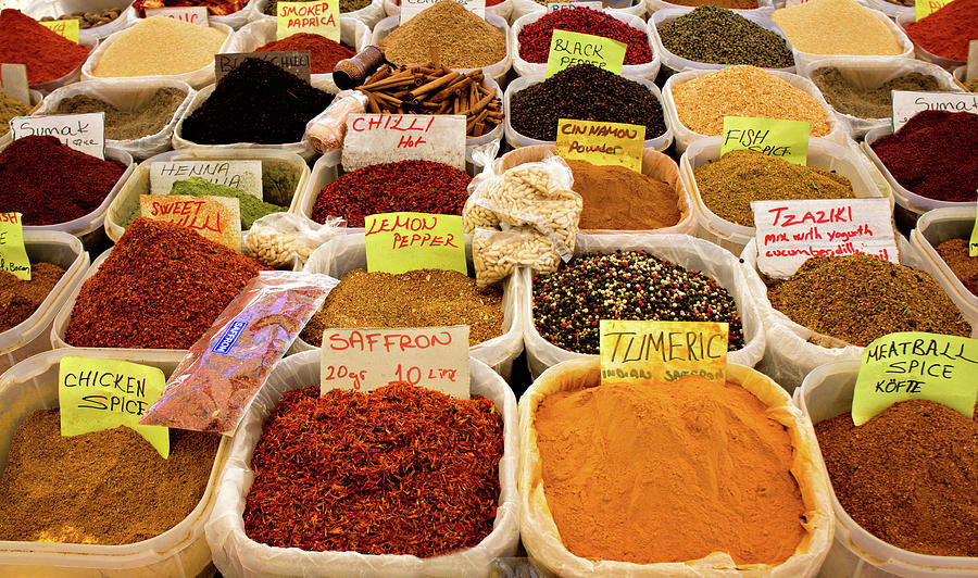 Spices Photograph by Michelle Mcmahon