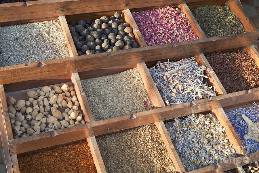 Africa Photograph - Spices by Roberto Morgenthaler