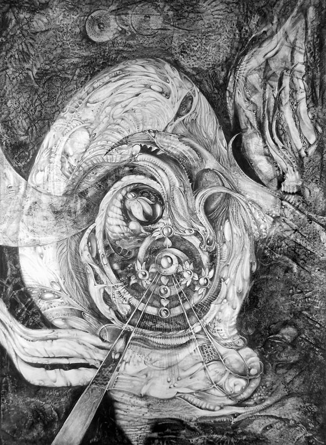Spiral Rapture Painting - Spiral Rapture 2 by Otto Rapp