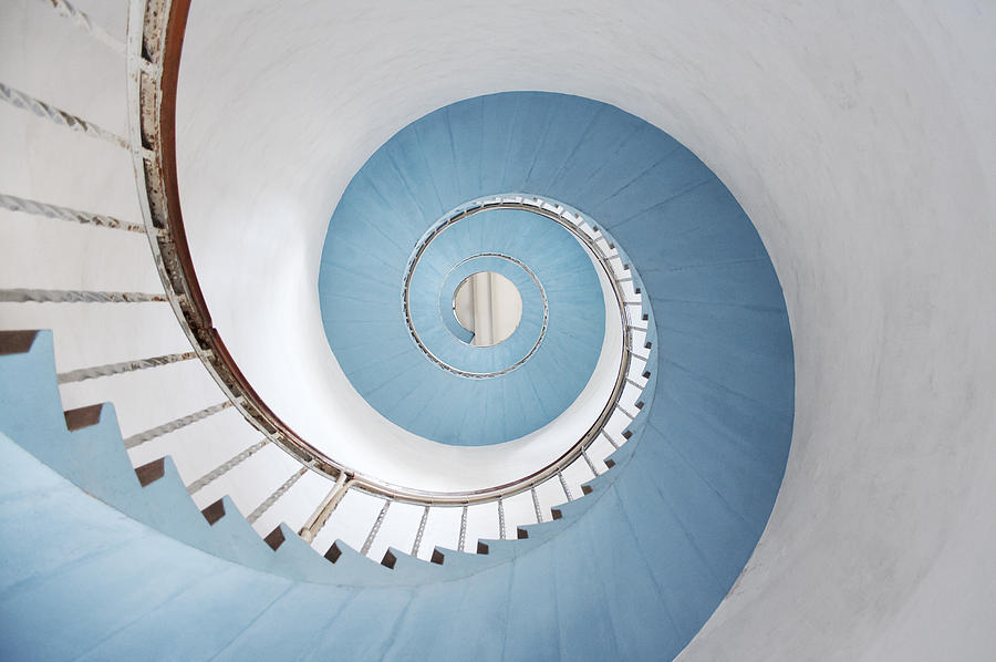 Spiral Staircase Photograph by Acilo