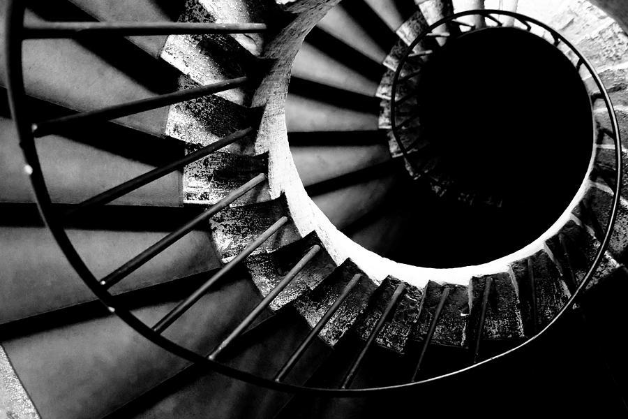 Spiral Photograph - Spiral Staircase by Fabrizio Troiani