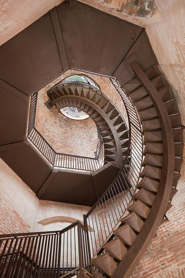 Spiral Staircase In Lamberti Tower Photograph by Buena Vista Images