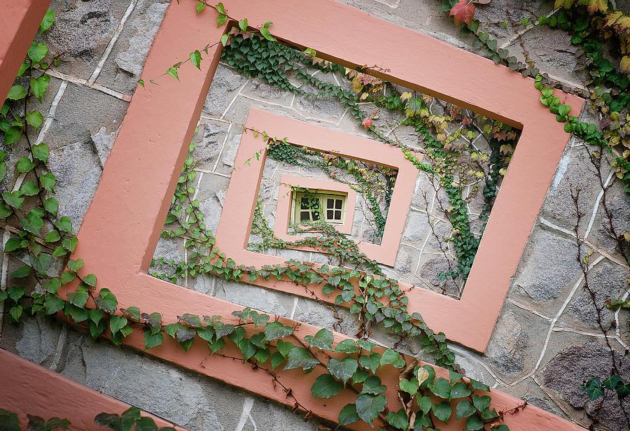 Spiral Photograph - Spiral Window by Chechi Peinado