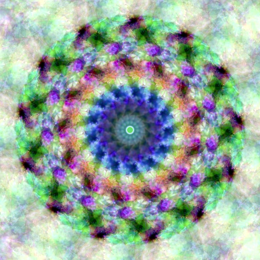 Mandala Photograph - Spirea Mandala #1 by Beth Sawickie