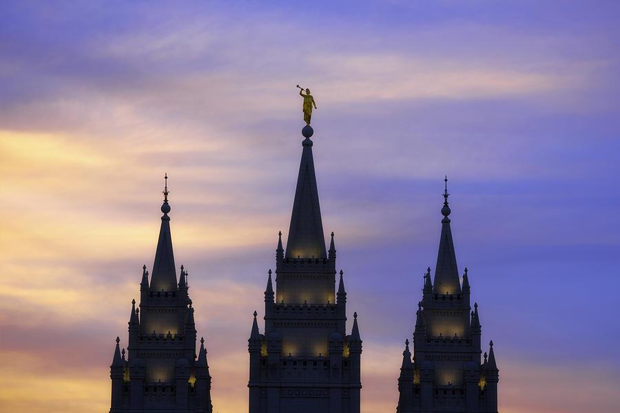 Salt Lake City Photograph - Spires by Chad Dutson