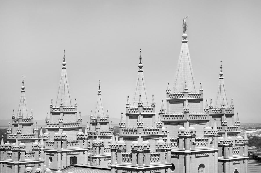 Lds Photograph - Spires by Jamie Fedele