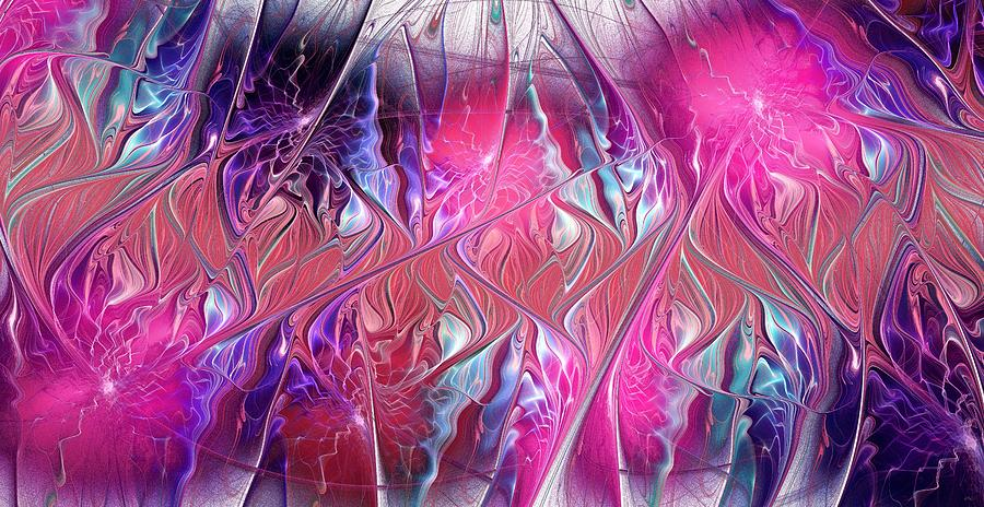 Interior Digital Art - Spirit Connections by Anastasiya Malakhova