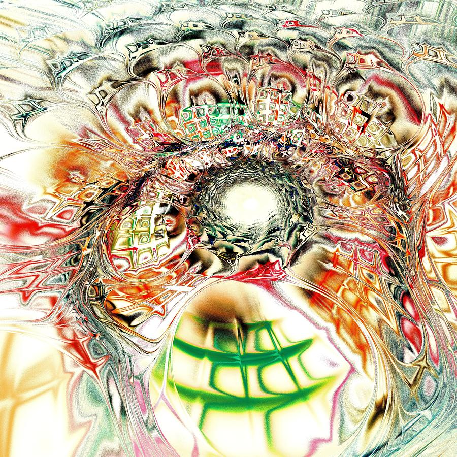 Computer Digital Art - Spirit Crowd by Anastasiya Malakhova