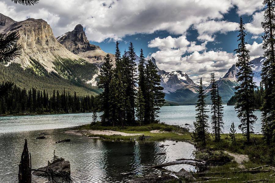 Spirit Island & Maligne Lake Photograph by Josiane St Pierre
