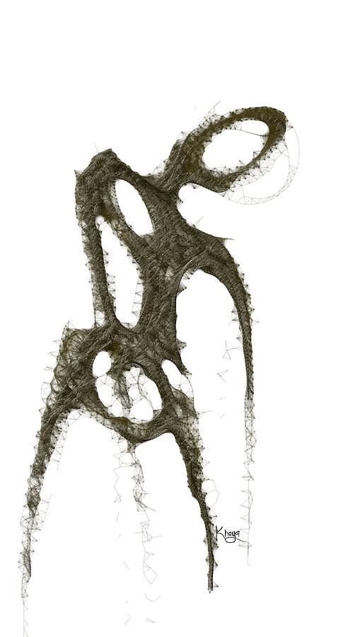 Digital Art - Spirit Of A Dancer 2 by Khaya Bukula