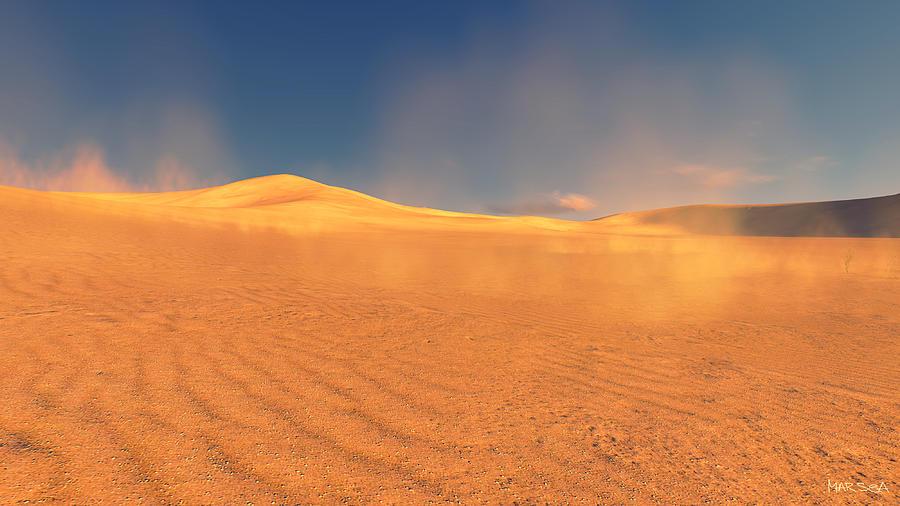 Spirit Of Desert Digital Art