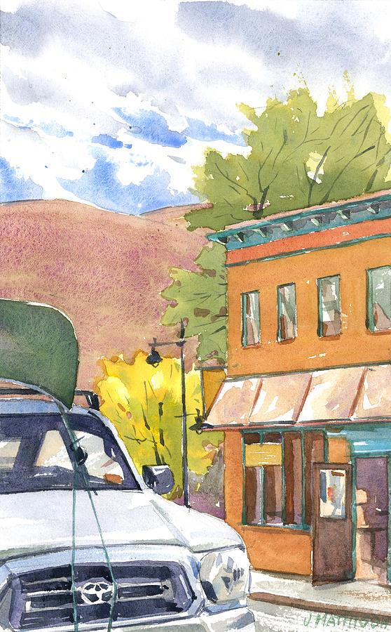 Moab Painting - Spirit Of Moab by Jeff Mathison