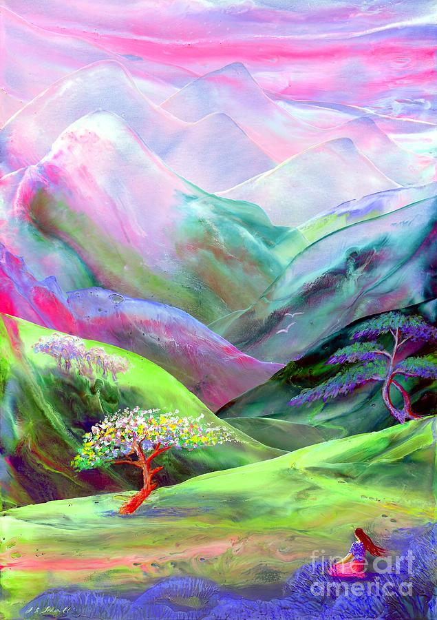 Spring Painting - Spirit Of Spring by Jane Small