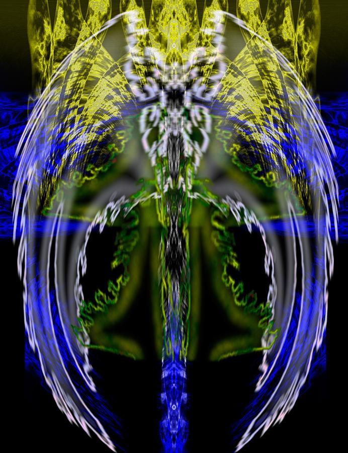 Spirit Painting - Spirit Of The Dragon by Christopher Gaston