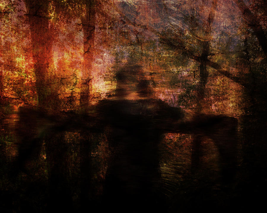 Abstract Digital Art - Spirit Of The Woods by Jay Swisher