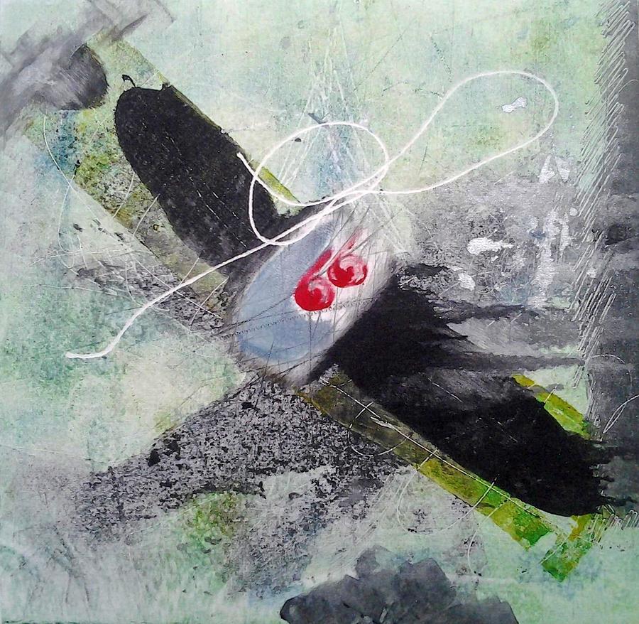 Plane Painting - Spirit Spiral by Lesley Fletcher