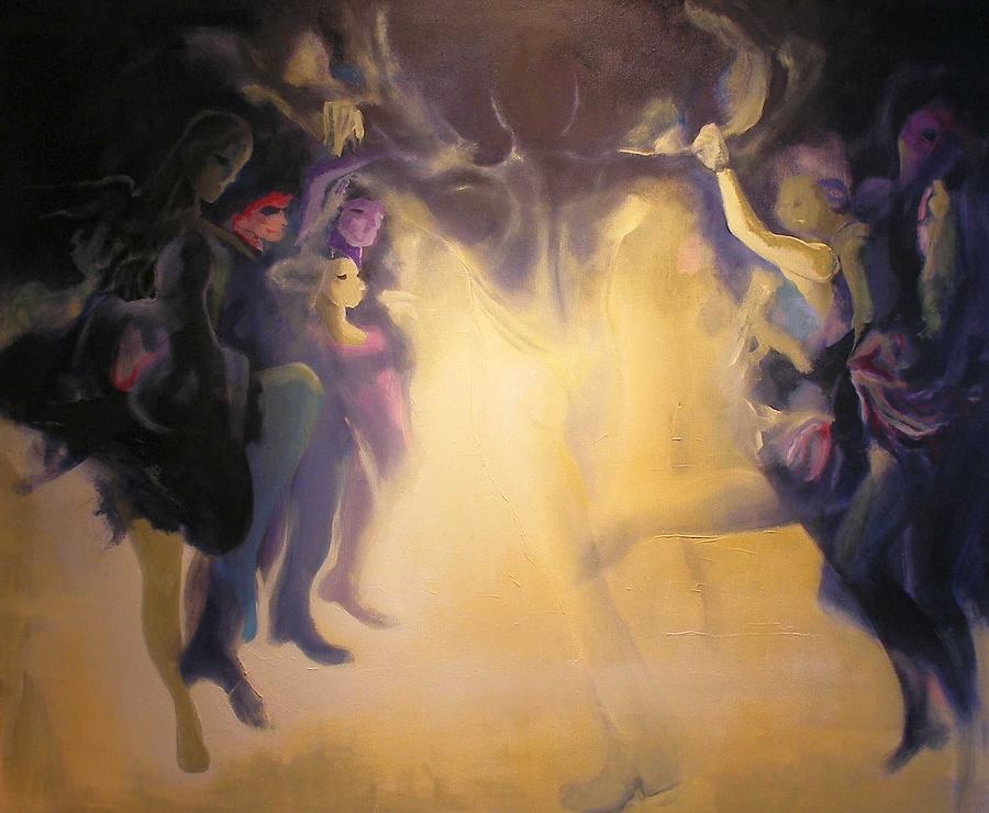 Spirits Painting by Georg Douglas